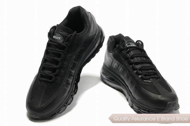 nike air max 95 360 mens all black sneakers p 2434  c75ba3956