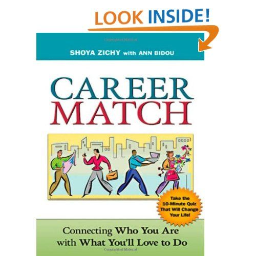 Career Match - Connecting Who You Are with What You'll Love to Do