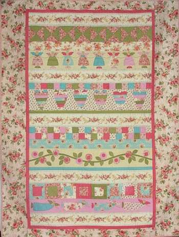 Angels & Blooms - by The Birdhouse - Quilt Pattern | Quilting ... : birdhouse quilts - Adamdwight.com