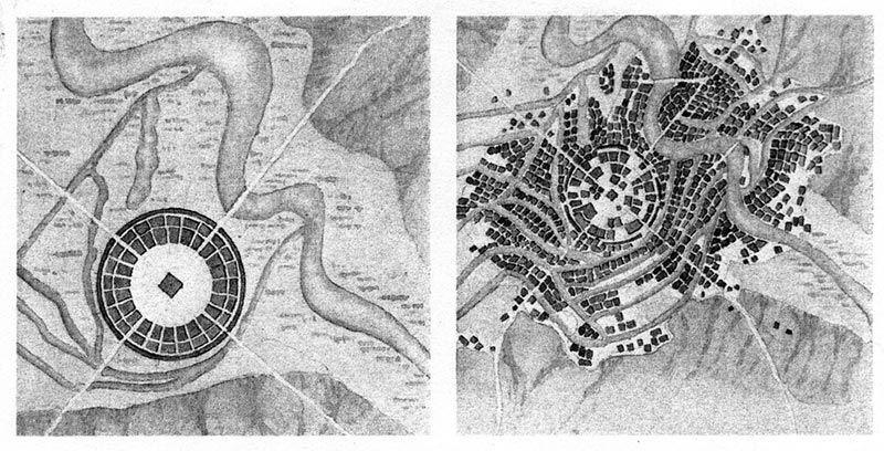 The Round City Of Baghdad Baghdad Islamic City Abbasid Caliphs