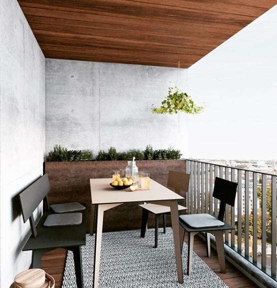 soluzioni per rinnovare il balcone   Terrazza arredamento ...
