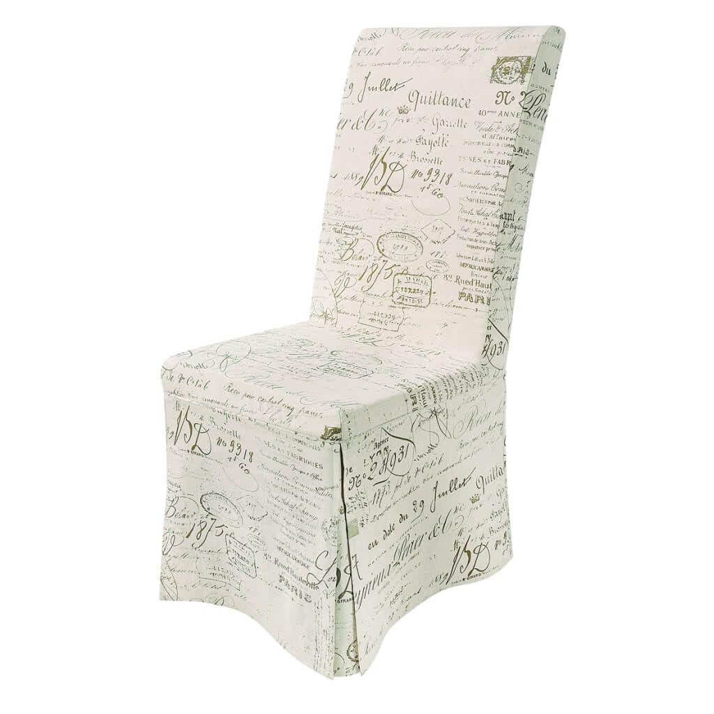 Weiß Esszimmer Stuhl Abdeckung Überprüfen Sie mehr unter http ...