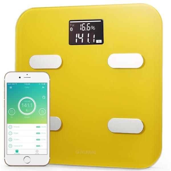 Improve your weight loss and overall weight management with 10 precision measurements and Bluetooth wireless tracking. - Now with six different shades to choose from, the YUNMAI Color lets you live even more boldly.  - Coordinating color sensors and relief edging make the YUNMAI Color a work of timeless modern design. Made for those who understand that good style is in the details.