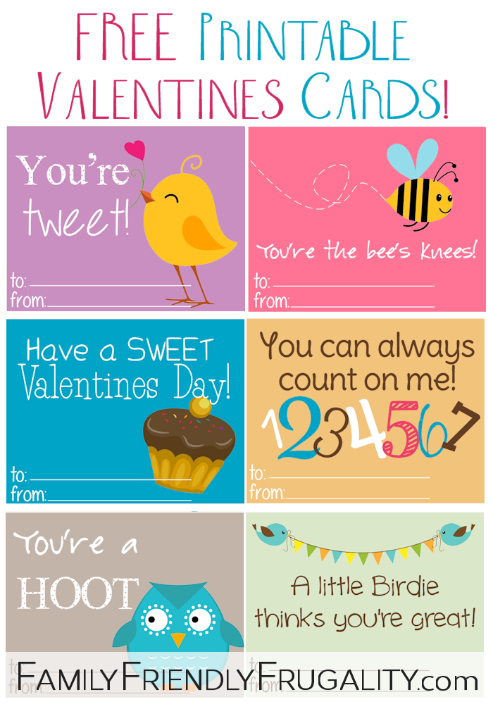 It's just a picture of Peaceful Printable Childrens Valentines Cards