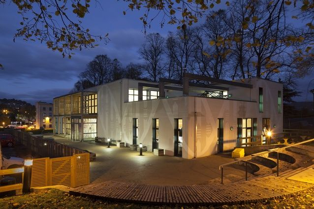 Hayesfield School in Bath, UK by White Design, 2012