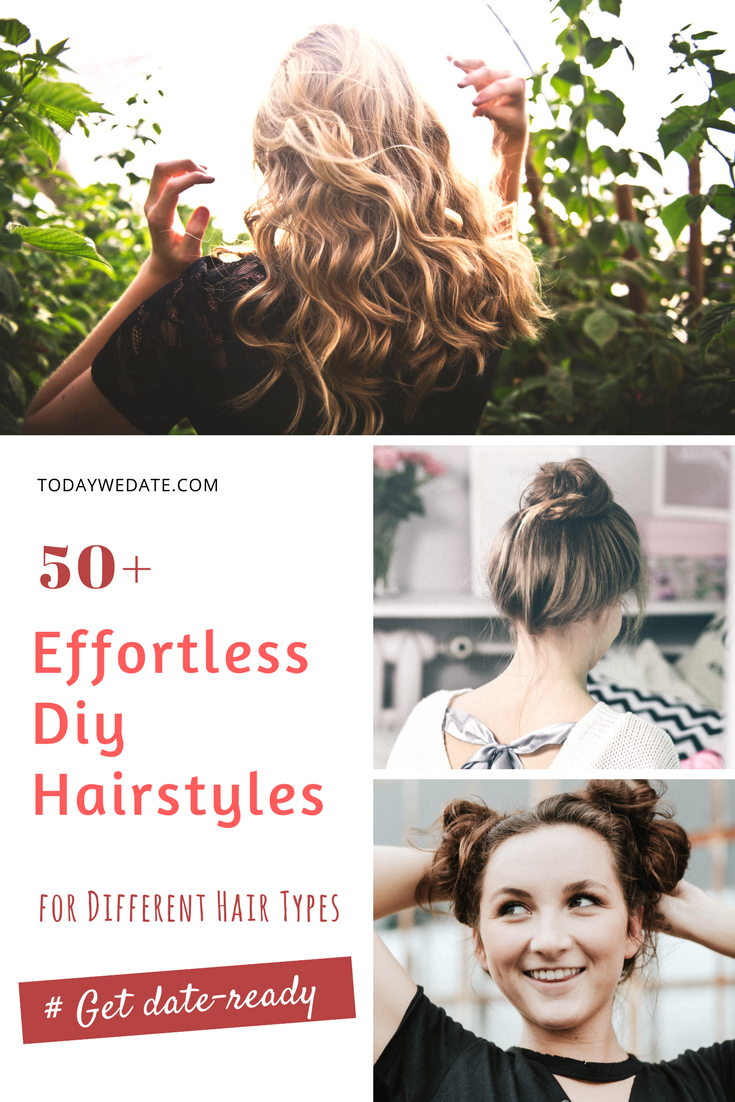 Types Of Hairstyles Magnificent 50 Effortless Diy Date Night Hairstyles For Different Hair Types