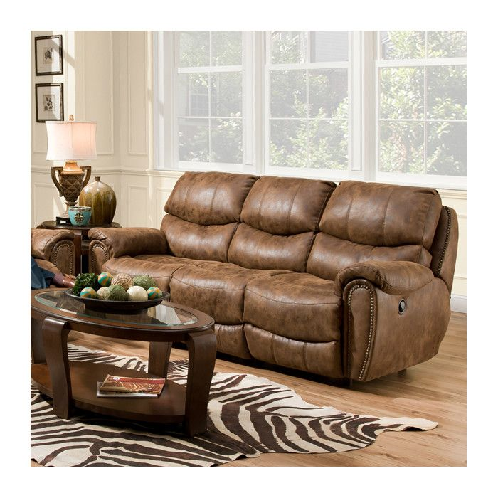 Red Barrel Studio Carolina Motion Leather Sofa Wayfair Reclining Sofa Sofa Upholstery Leather Reclining Sofa