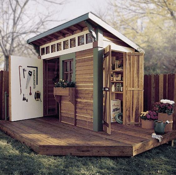 Lean To Shed Plans #shedplans