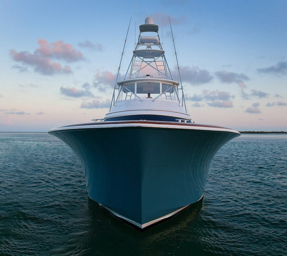Beautiful hatteras gt hatteras yachts via kusler yachts for Hatteras fishing boat