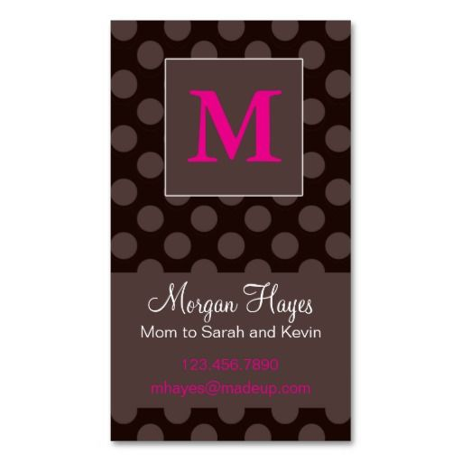Chocolate Mommy Card Zazzle Com Standard Business Card Size Business Card Template Cards