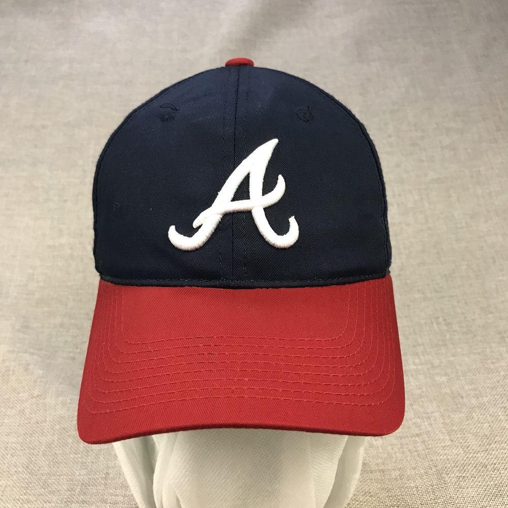 Alabama Baseball Cap Team Mlb Hat Youth One Size Blue Red White Adjustable Strap Mlb Baseballcap Baseball Cap Hats Red And White