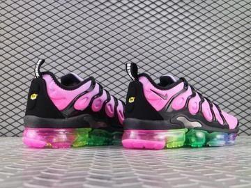 4b07c7962b Womens Shoes Nike Air VaporMax Plus Be True Purple Pulse Black Pink Blast