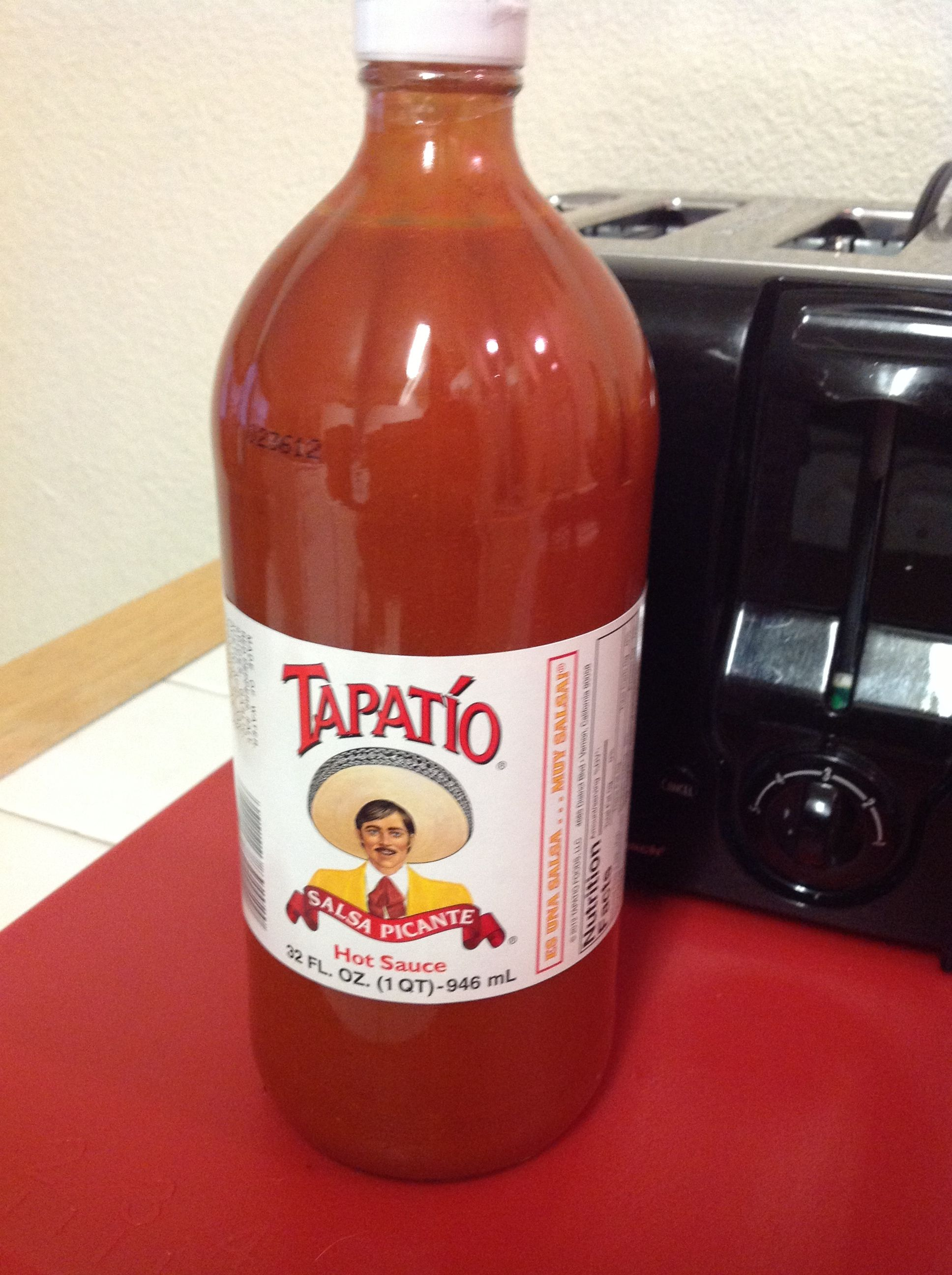 Tapatio The World S Best Hot Sauce I Even Use It In Soup Tea Bottle Honest Tea Bottle Hot