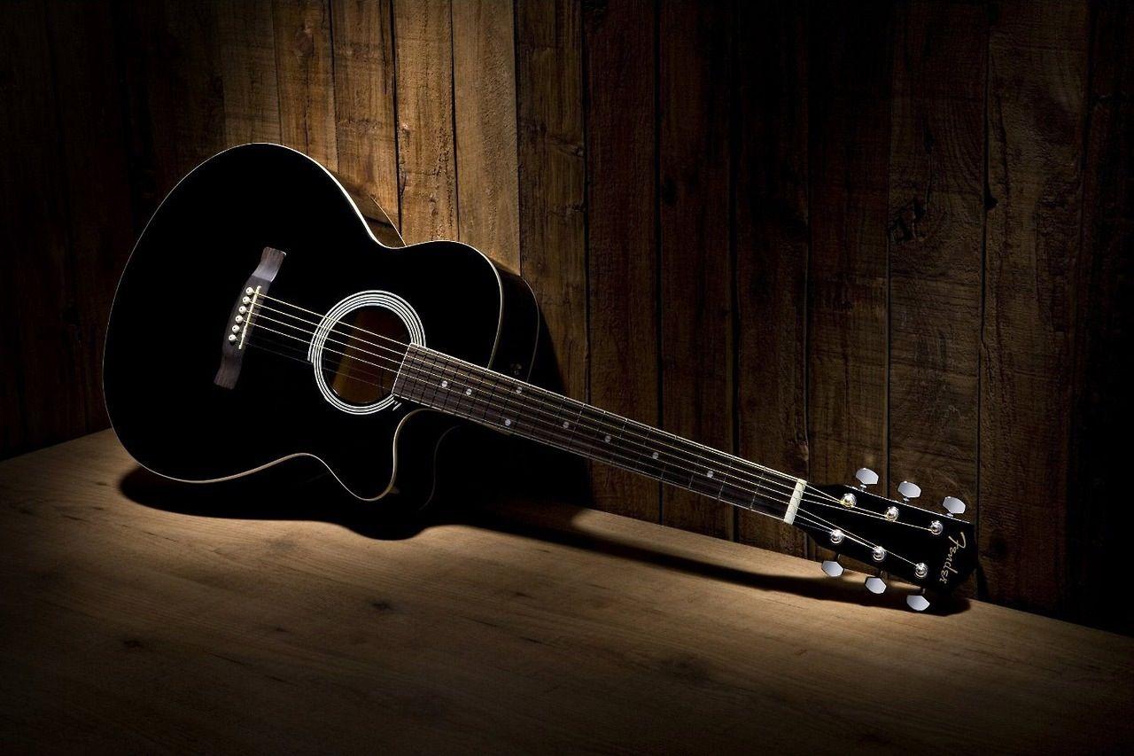 Fender Acoustic Guitar Ovation Guitar Black Acoustic Guitar Guitar