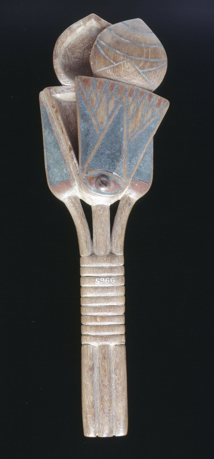 Painted wooden ointment spoon dyn 18 this spoon shaped container egypt painted wooden ointment spoon dyn this spoon shaped container for unguent or scented oil takes the form of lotus flowers surmounted by a mandrake izmirmasajfo