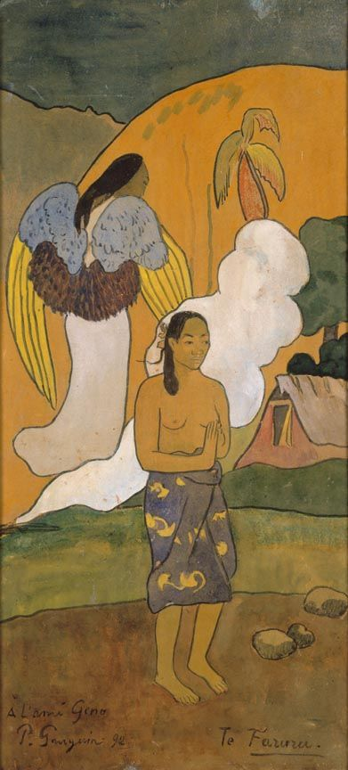 Image result for annunciation paul gauguin