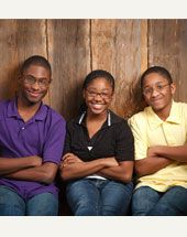 This sibling group of three from Missouri just wants to be together. Junior, 15, Laura, 13, and Dennis, 11, are anxious to have a family to call their own. These children are available for adoption from foster care.