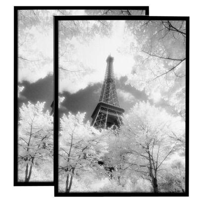 Set of 2 Elite Poster Frames - Black (18x24\