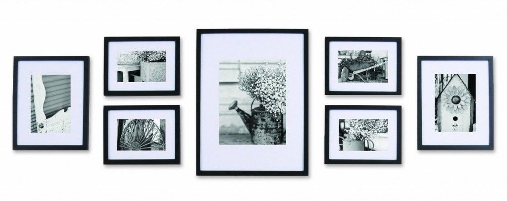 Photo Wall Ideas With Different Frames : Wood wall frames art photos africa