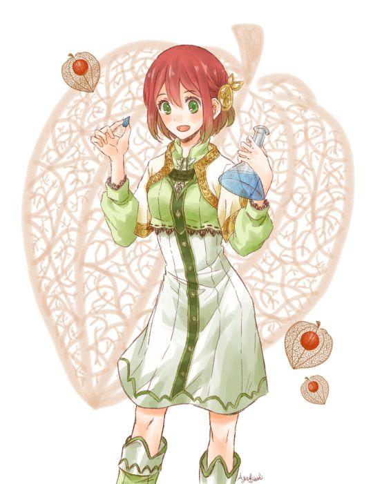 Epingle Par Manga God Sur Akagami No Shirayukihime Shirayuki Aux Cheveux Rouges Cheveux Rouge Rouge