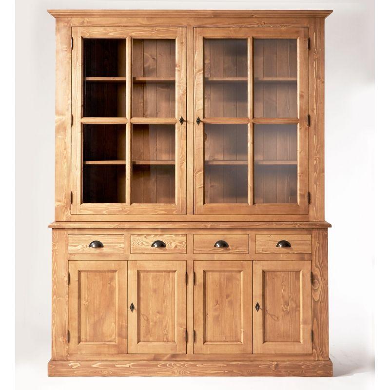 meuble vaisselier en bois massif vaisselier pinterest. Black Bedroom Furniture Sets. Home Design Ideas