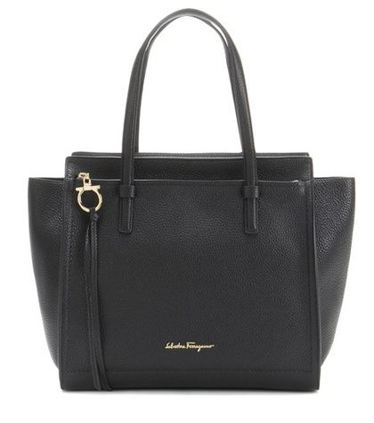 Salvatore Ferragamo Large Amy Leather Tote For Spring-Summer 2017