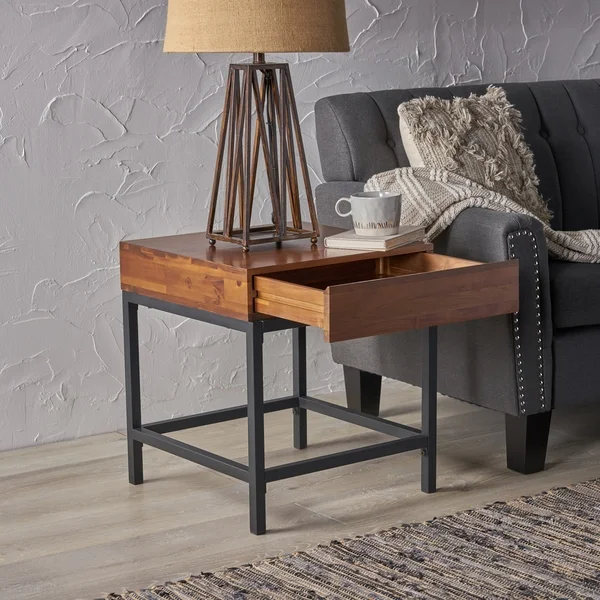 Our Best Living Room Furniture Deals Living Room End Tables Rustic Side Table Living Room Side Table