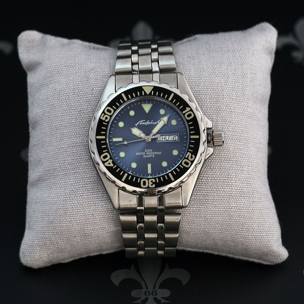 1980's FIREBIRD Vintage 200m Diving Watch Cal. R507 With