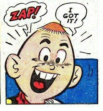 Zap! I got it!