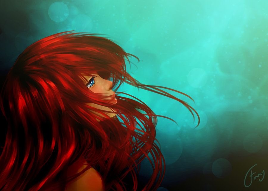 Little Mermaid Painting Tumblr Images & Pictures - Becuo ...