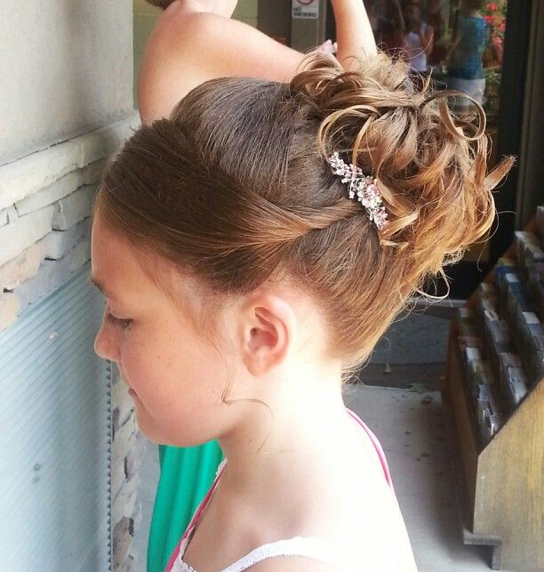 Wedding Hairstyles For Young Bridesmaids: Junior Bridesmaid/flower Girl Hair