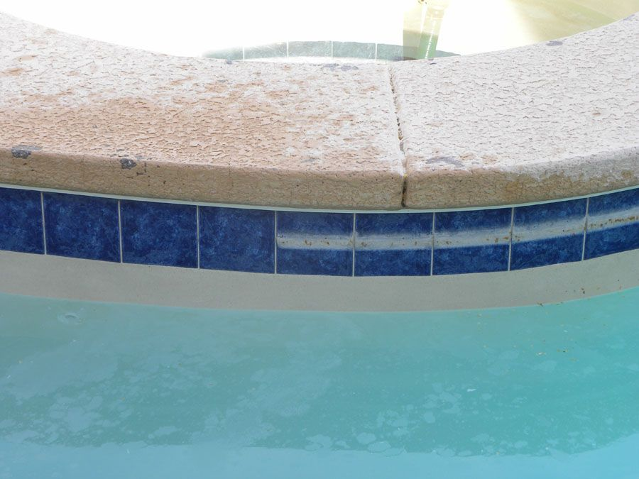 How To Remove Hard Water Stains From Pool Tile Tile Design Ideas