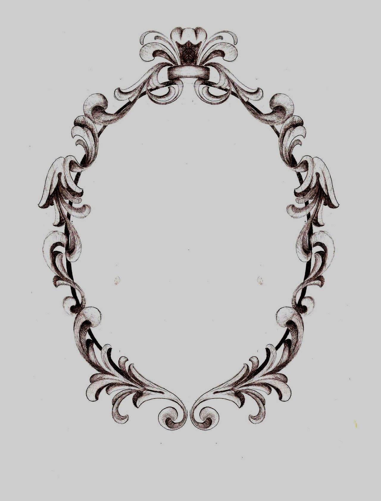 Filigree Frame Hanson Art Facebook | Diseños d | Pinterest ...