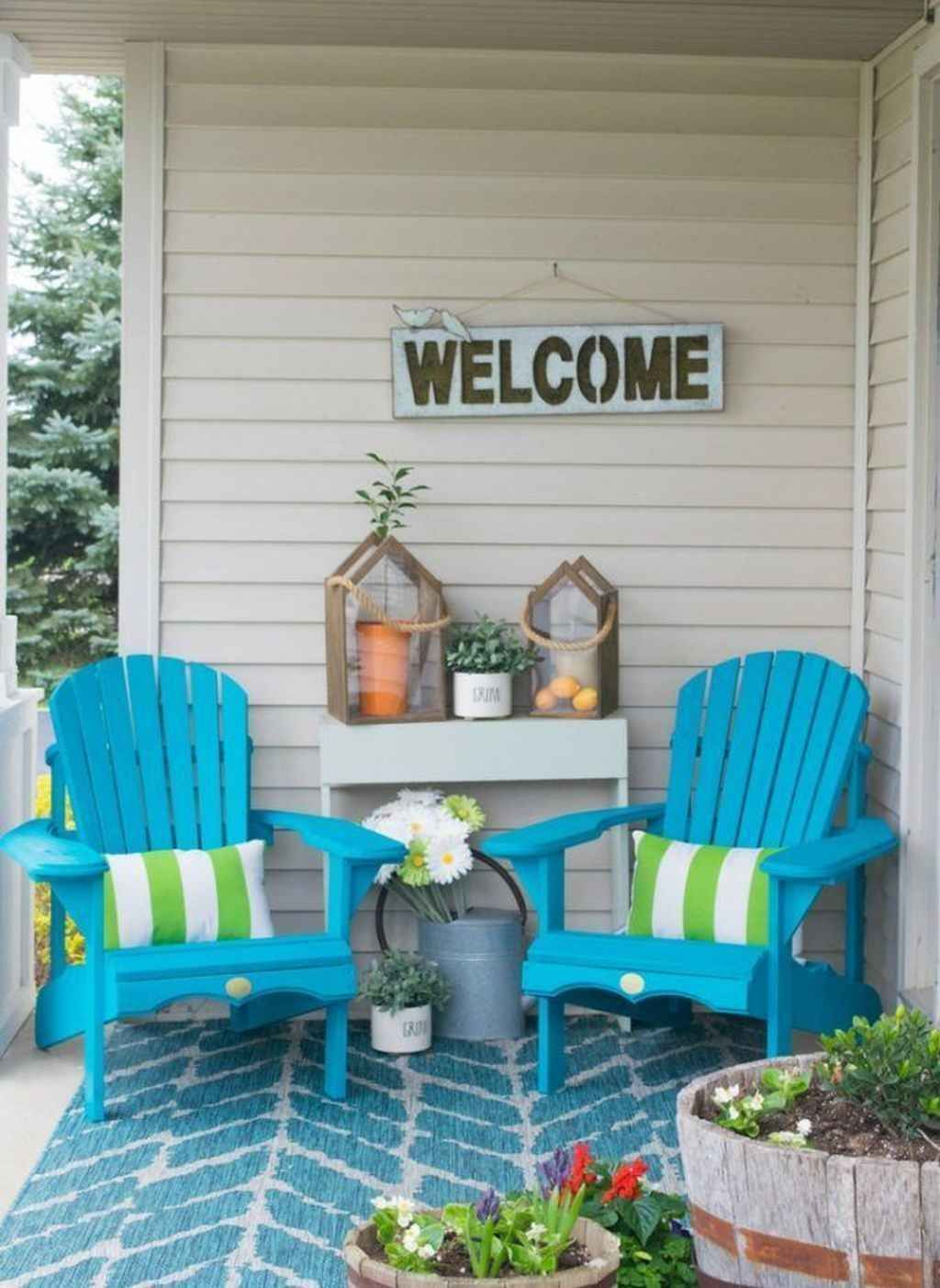 80 Small Front Porch Seating Ideas For Summer Front Porch