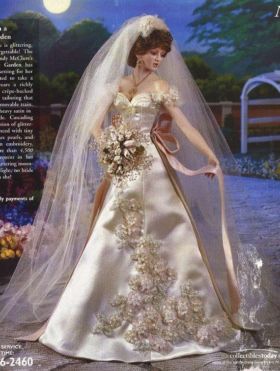 cindy mcclure bride dolls | Dolls - Bride #bridedolls