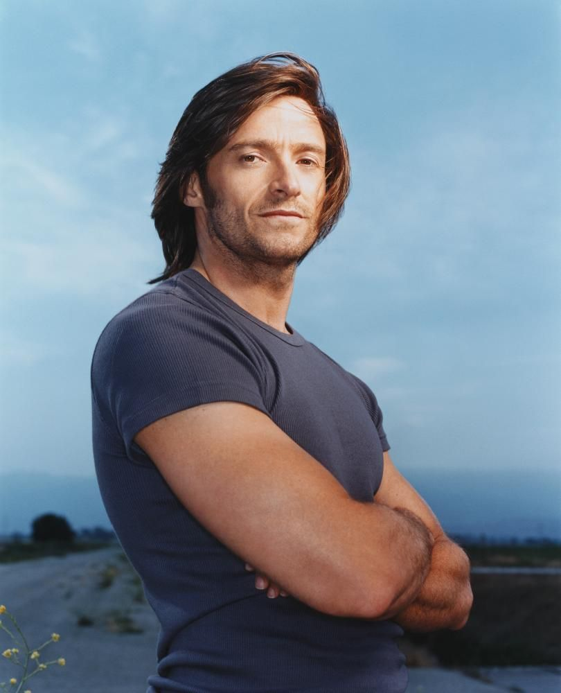 I Have A Thing For Semi Long Hair Can You Tell P Hughjackman Hugh Jackman Long Hair Hugh Jackman Young Hugh Jackman Jackman