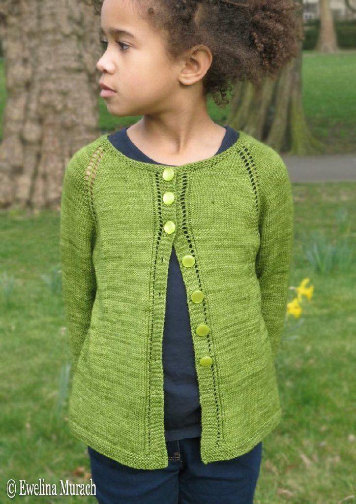 Leaf Lace Cardigan Kids Pinterest Kids Knitting Patterns