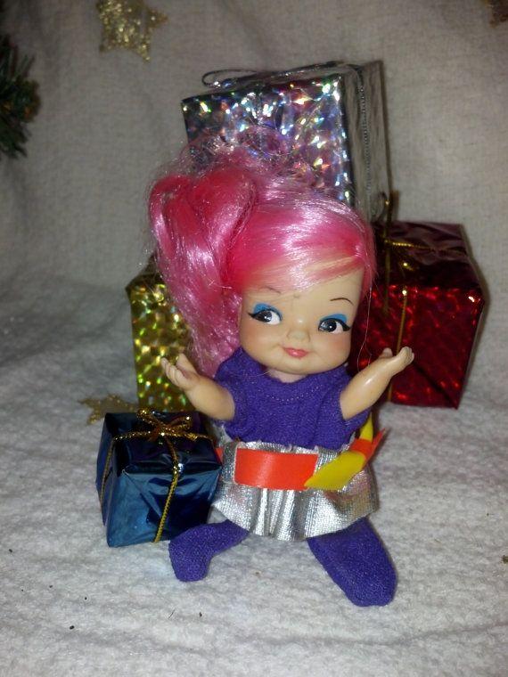 Remco Finger Pixie Doll Finger Puppet Doll Vintage by RCEastman, $5.00 #remco, #fingerlingdoll, #pixie, #fingerpuppet, #vintagedoll