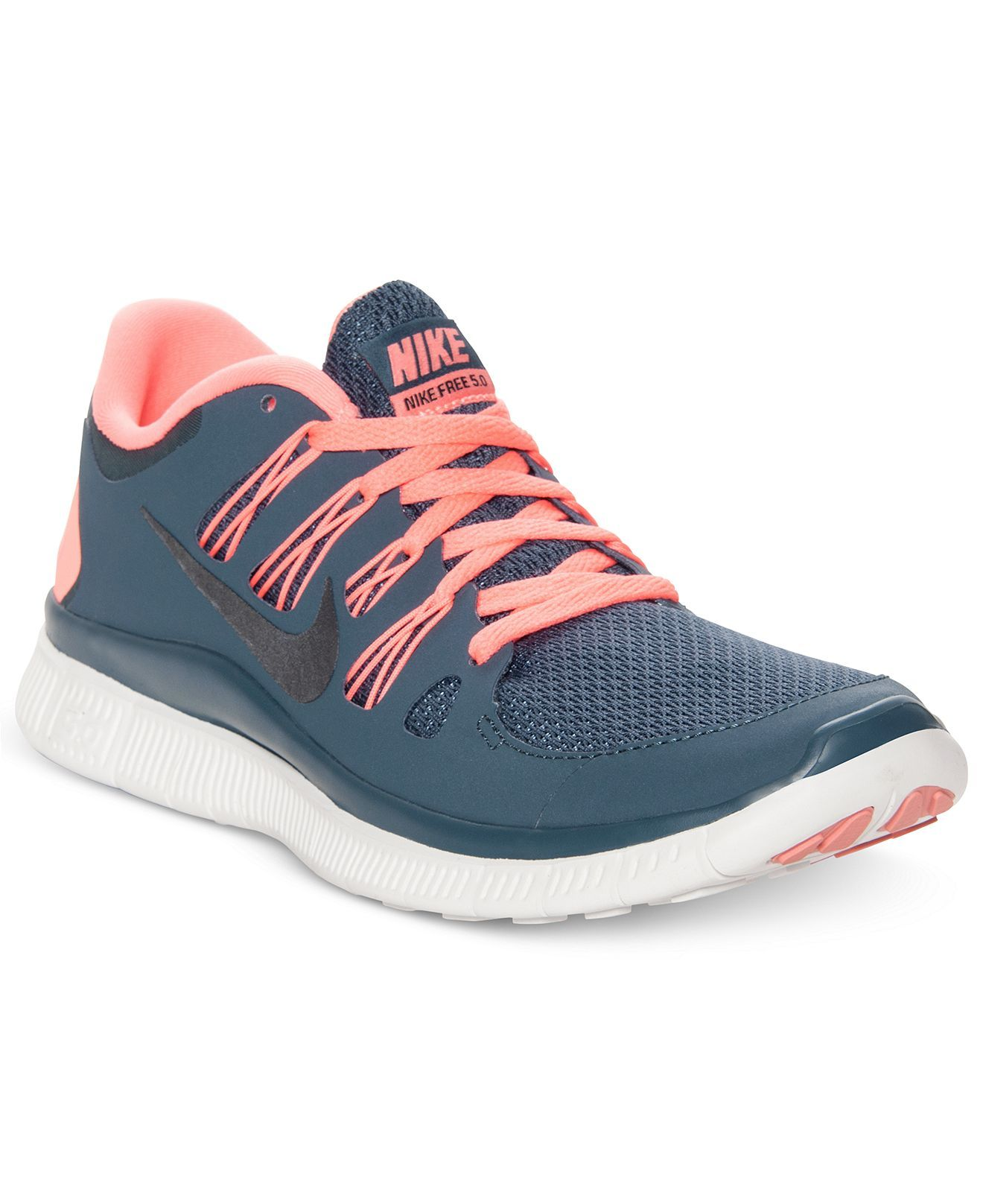 Nike Women's Shoes, Free 5.0+ Running Sneakers - Nike - Shoes - Macy's!