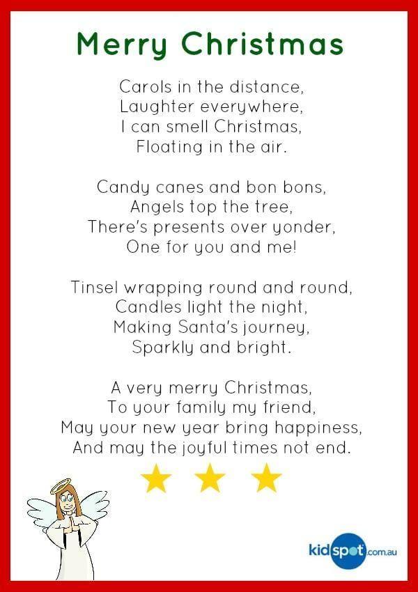 Christmas Poetry Kids Christmas Christmas Cards Short Christmas Poems Christmas Poems Xmas Poems