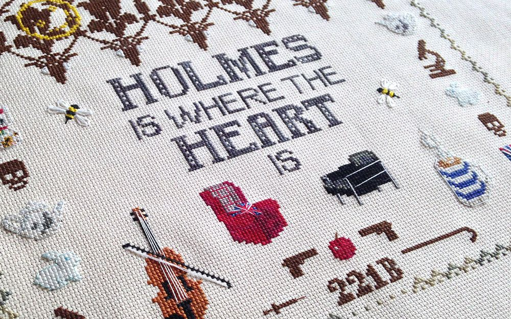 Sherlock Cross Stitch Pattern Digital by OtterlyInXStitches