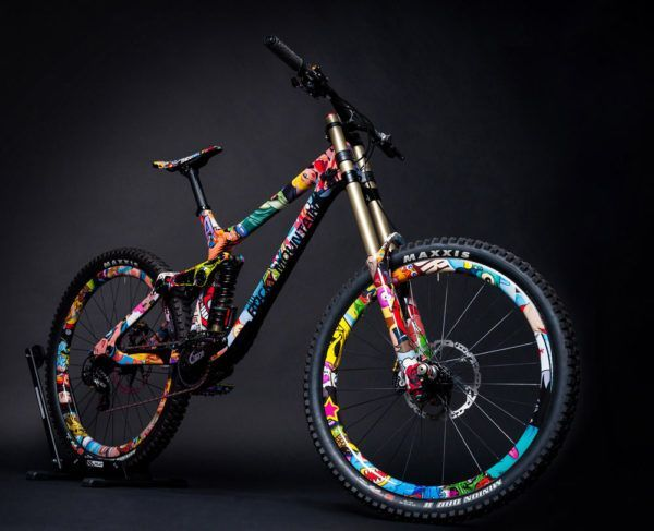 Rieseldesign Rocky Mountain Mayden Downhill Mountain Bike Design07