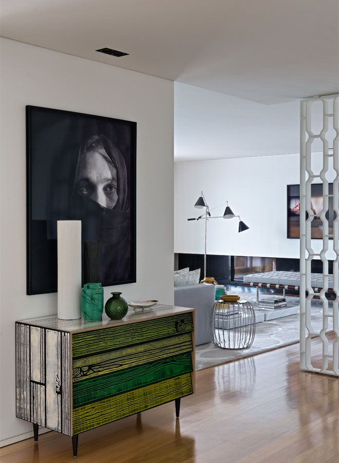 CJC Interior Design | Duplex Apartment | Hall | Details | Green | North of  Portugal