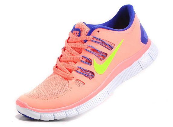 big sale c7e6c 1fdbc 2013 Nike Free 5.0 V2 Womens Pink Sapphire Blue