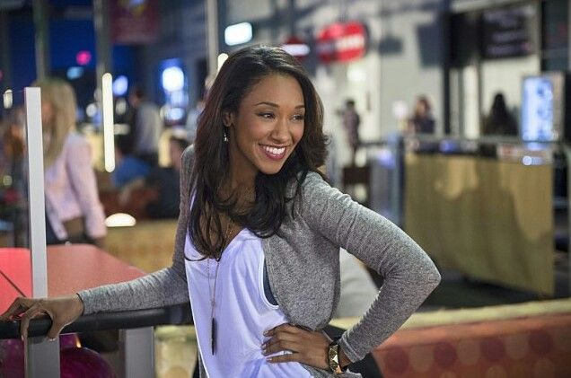"""Iris West (Candice Patton) will take on a new role at S.T.A.R. Labs in """"The Flash"""" Season 2.The CW"""