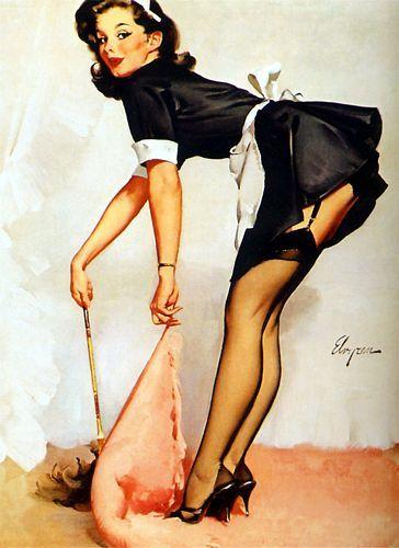 4ef3e1c8db6 1950 s Vintage PinUp Girl Poster 3 by VintagePosterShopUK on Etsy ...