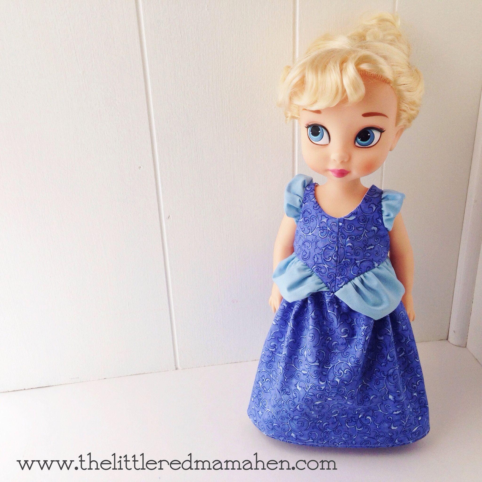 Disney doll  Animator Doll Clothes Cinderella dress