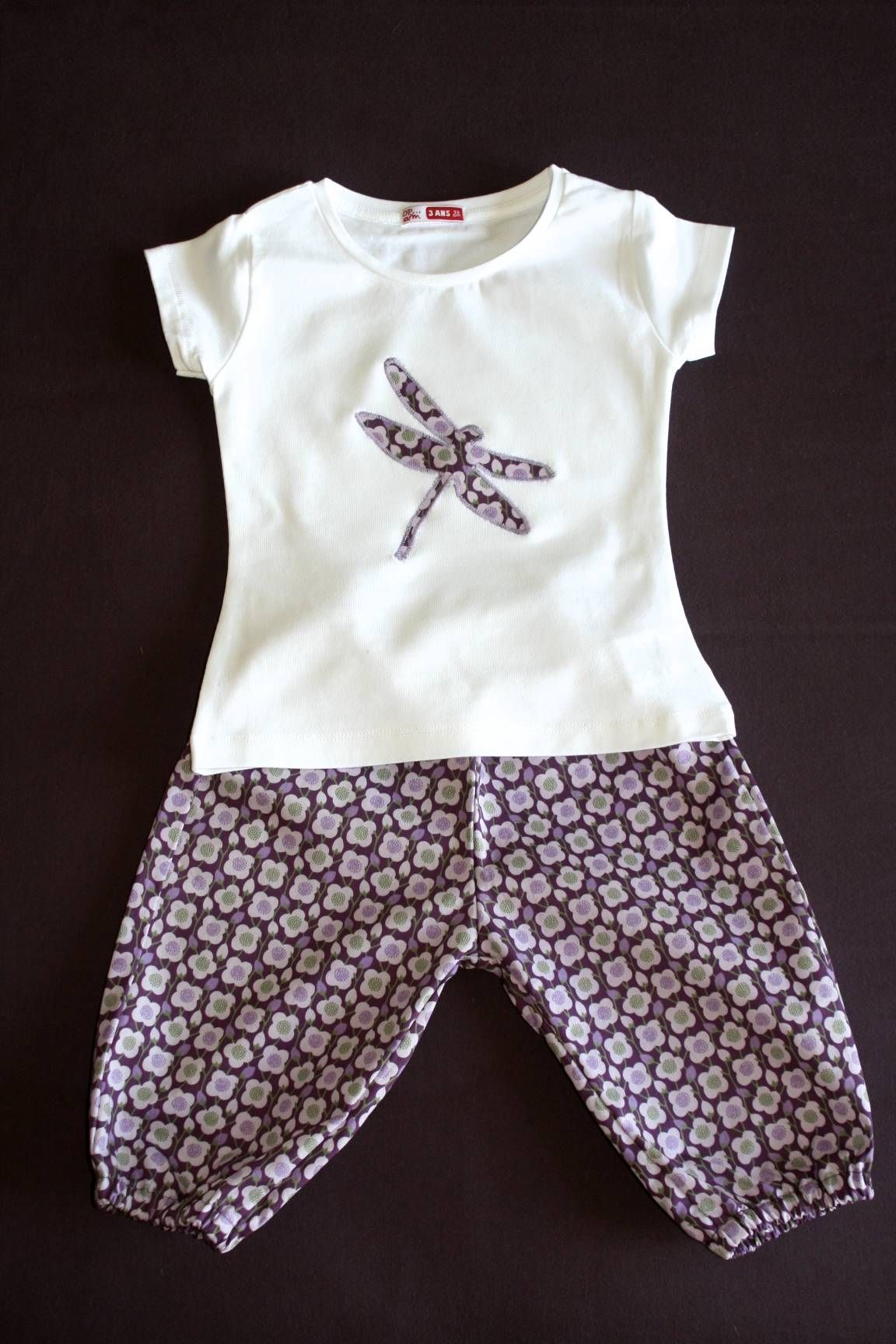 Souvent pyjama fille libellule | Inspirations couture fille | Pinterest  WS75