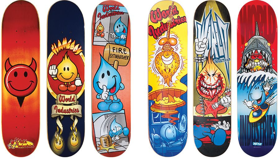 The History Of World Industries And Its 29 Million Dollar Sale World Industries Skateboard Art World Industries Skateboards