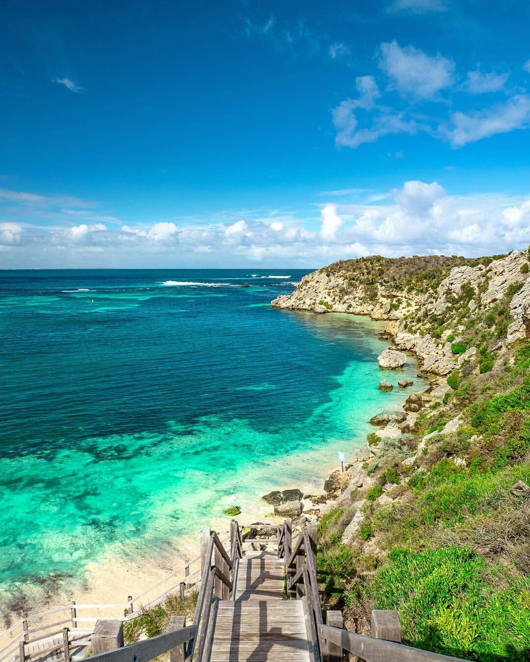 Rottnest Island Australia: Rottnest Island, Located Off The Southeastern Coast Of